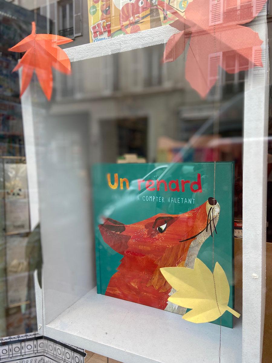 vitrine librairie