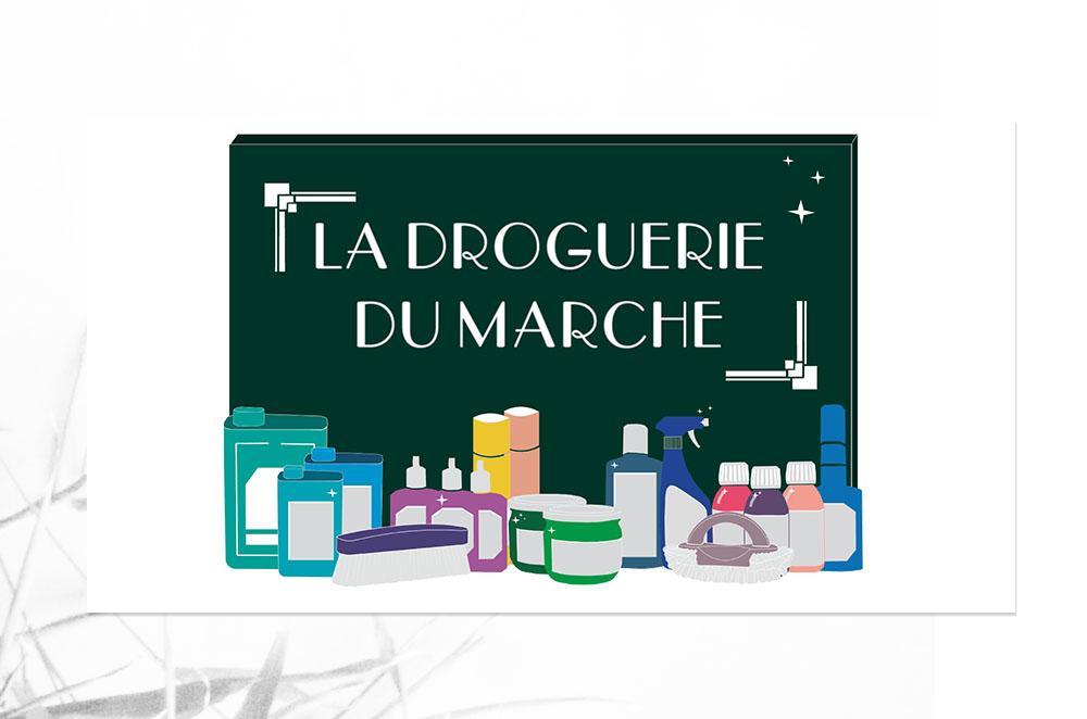 logo la droguerie du marché