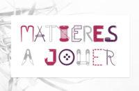 logo matières à jouer