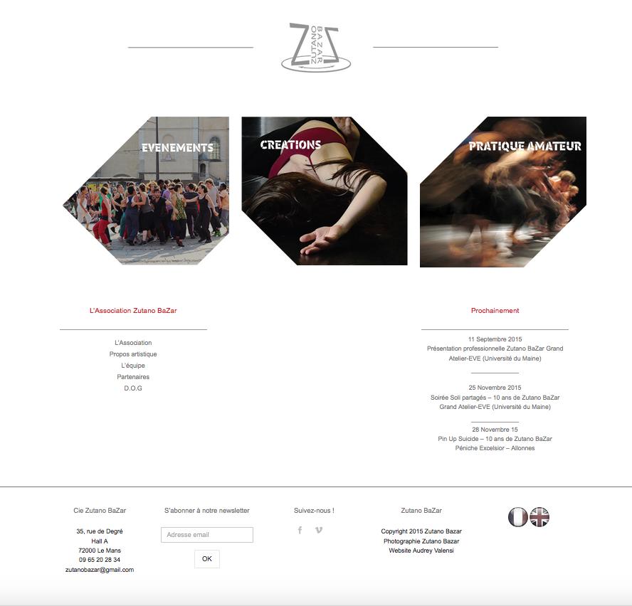site internet zutano bazar