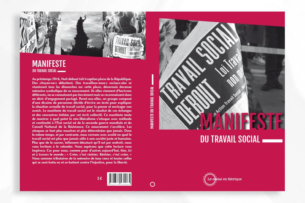 couverture livre manifeste du travail social