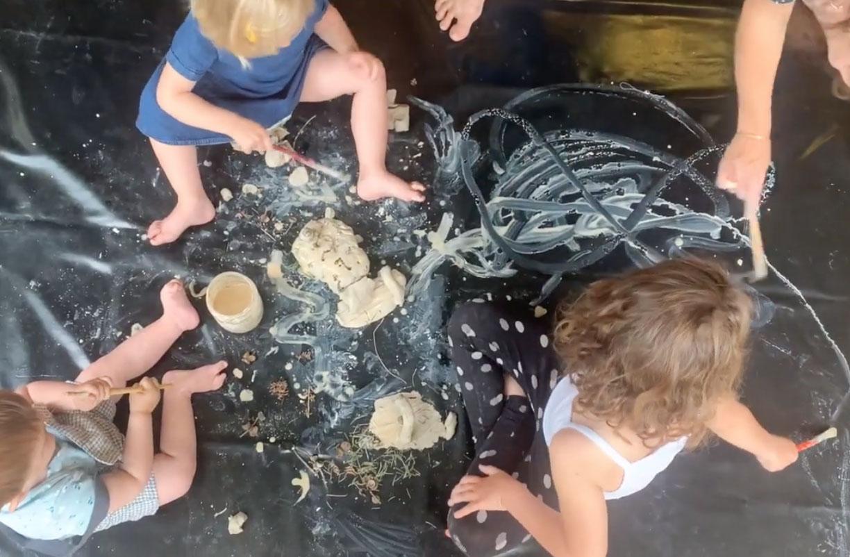 atelier argile bébé